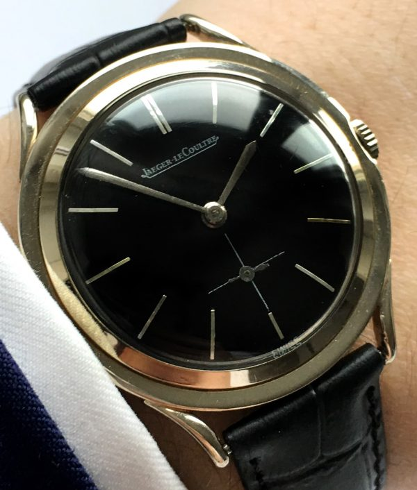 Rare Jaeger LeCoultre Solid White Gold 14ct