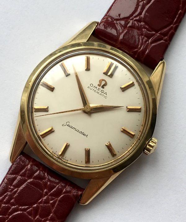 Perfect Omega Seamaster Automatic Gold Vintage