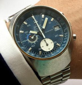 Fully Serviced Omega Speedmaster Mark 3 blue dial Automatic