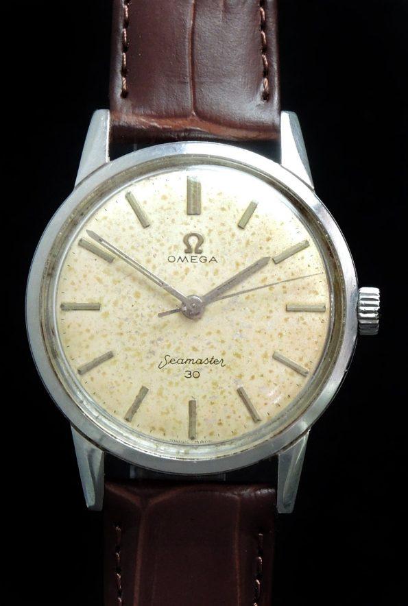 Vintage Omega Seamaster 30 Steel Handwinding