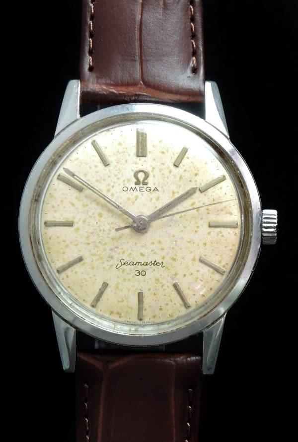 Vintage Omega Seamaster 30 Steel