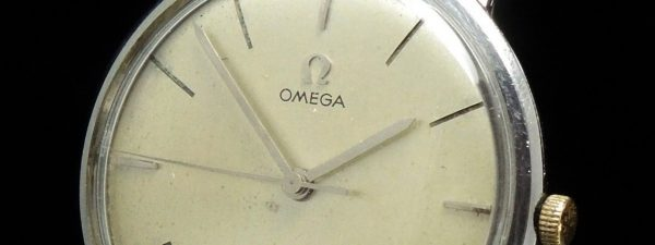 Serviced Omega 34mm Vintage Steel