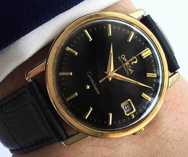 Restored Omega Constellation Solid Gold Automatic