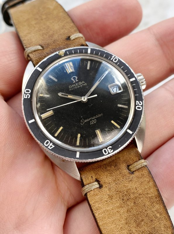 Serviced Omega Seamaster 120 Automatic Vintage