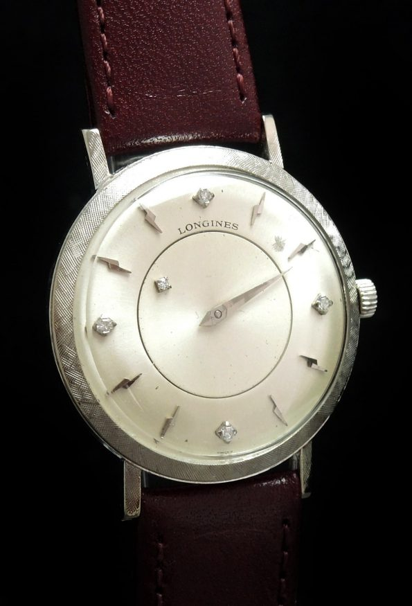WHITE GOLD Longines Galaxy Mystery Diamond Dial