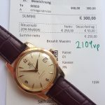SELTEN Servicierte Rotgold Omega Seamaster Automatik Calendar
