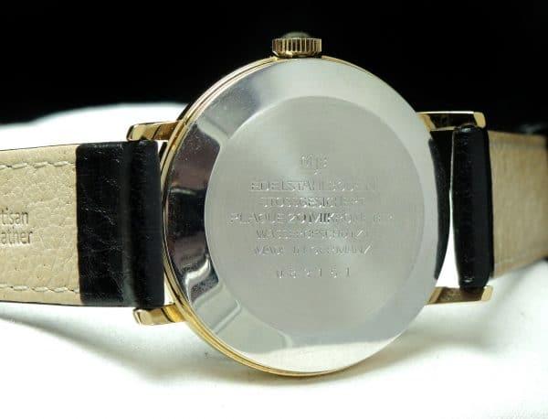 Vintage Glashütte Spezimatic Automatic black dial