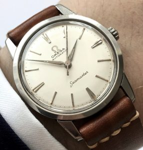 Early Omega Seamaster Automatic Steel BIG SEAHORSE