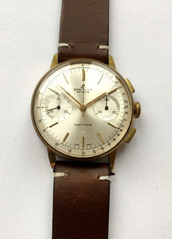 Vintage Breitling Top Time 36mm Chronograph