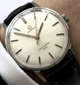 Perfect Vintage Omega Seamaster 600 Steel unpolished