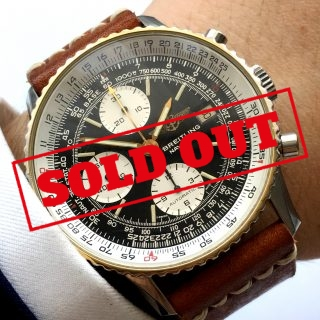 Serviced Breitling Old Navitimer 81610