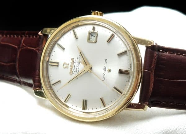 Perfect Omega Constellation Automatic Solid Gold