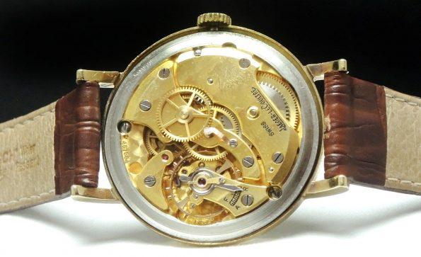 Jaeger LeCoultre 18 carat solid gold vollgold vintage
