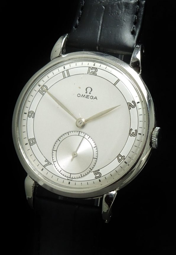 Wonderful Omega Oversize Jumbo Restored Dial 30t2 Two Tone