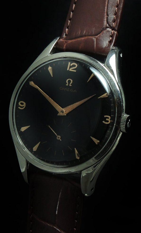 Explorer Dial Omega 39mm Oversize Jumbo Vintage Black