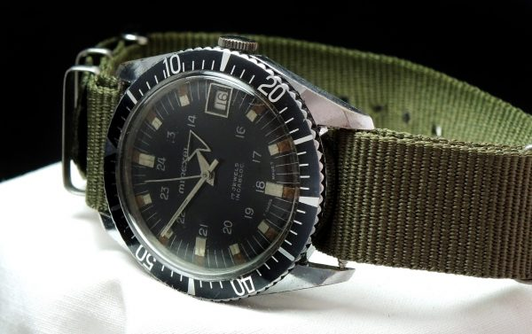 Mixeral Military Vintage Diver 36mm