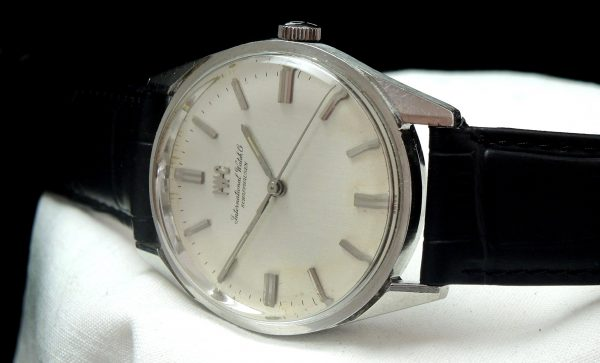 Serviced IWC 35mm Steel Linen Dial