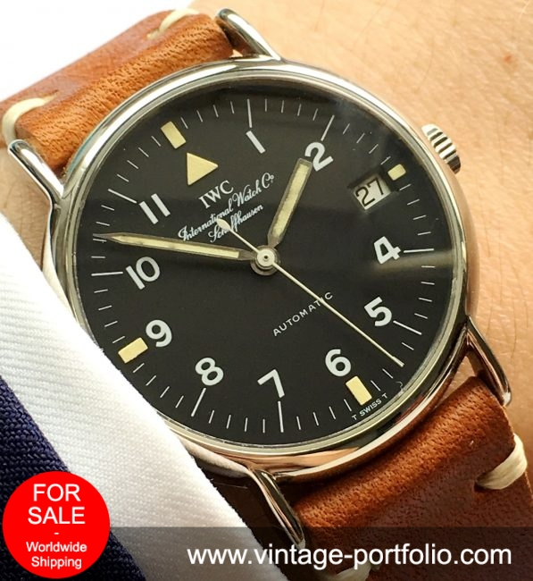Serviced IWC Portofino Automatic Military Version