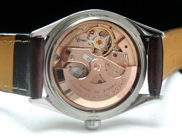 Unrestored black dial Omega Seamaster Automatic