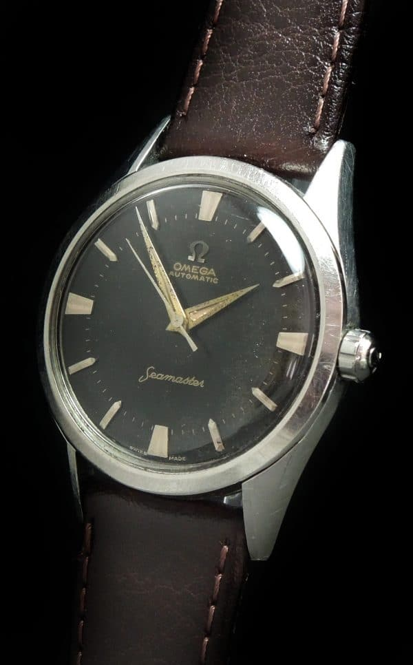 Unrestored black dial Omega Seamaster Automatic