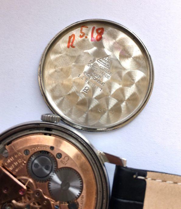 Refurbished Vintage Omega Seamaster Black Dial cal 601