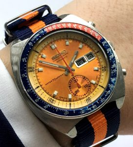 [:en]Wonderful Seiko Chronograph Pepsi Pogue[:de]Toller Seiko Chronograph Pepsi Pogue[:]