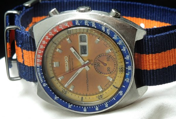 Wonderful Seiko Chronograph Pepsi Pogue