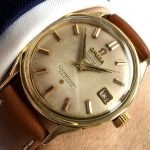 a2266 omega constellation gold cream dial (1)