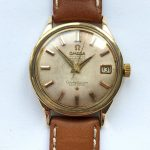 a2266 omega constellation gold cream dial (11)
