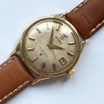 a2266 omega constellation gold cream dial (12)