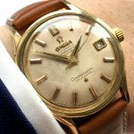 a2266 omega constellation gold cream dial (2)