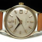 a2266 omega constellation gold cream dial (4)