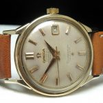 a2266 omega constellation gold cream dial (5)