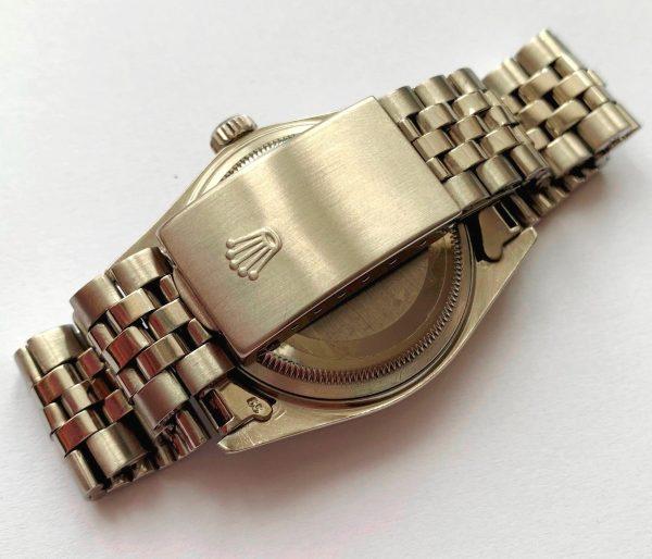 Tolle Rolex Datejust 36mm Stahl Pink Restauriertes ZB