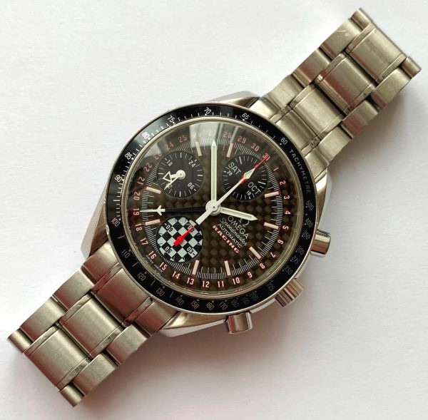 Omega Speedmaster Moonwatch Grey Side of the Moon Full Set