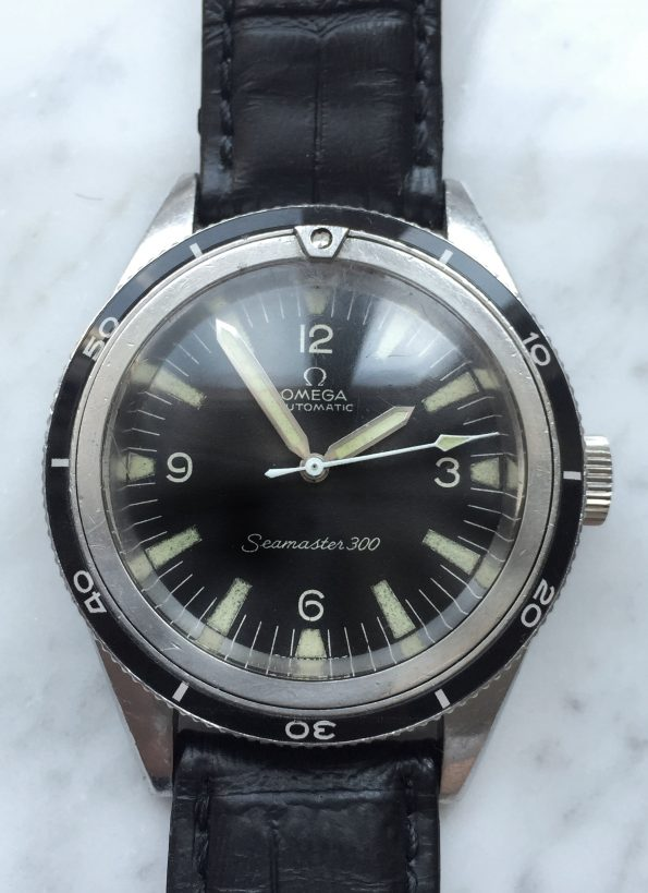 Omega Seamaster 300 Vintage Diver ref 14755-1 with EXTRACT