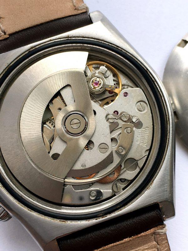 Great Breitling Chronomat Vintage Automatic Gold Bezel