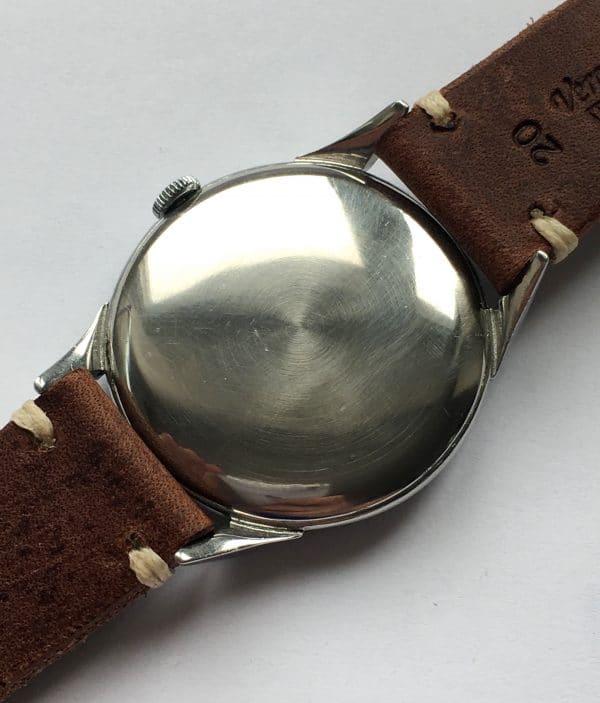 Scarab Omega 38mm Oversize Jumbo Vintage Black Dial
