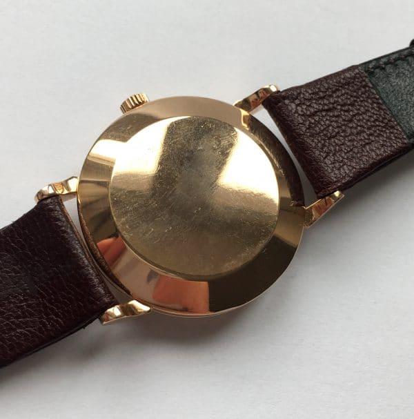 Superrare Solid Pink Gold Art Deco Omega Bumper