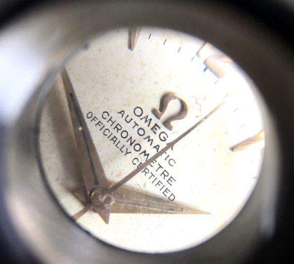 Extrem seltene vergoldete Omega Seamaster Chronometer 2577