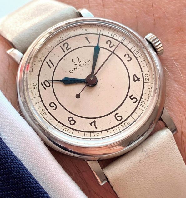 Vintage Omega Ladies Sector Dial