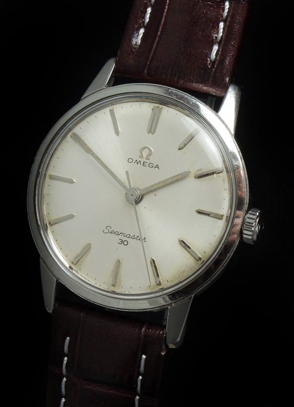 Servicierte Vintage Omega Seamaster 30 Cal 286