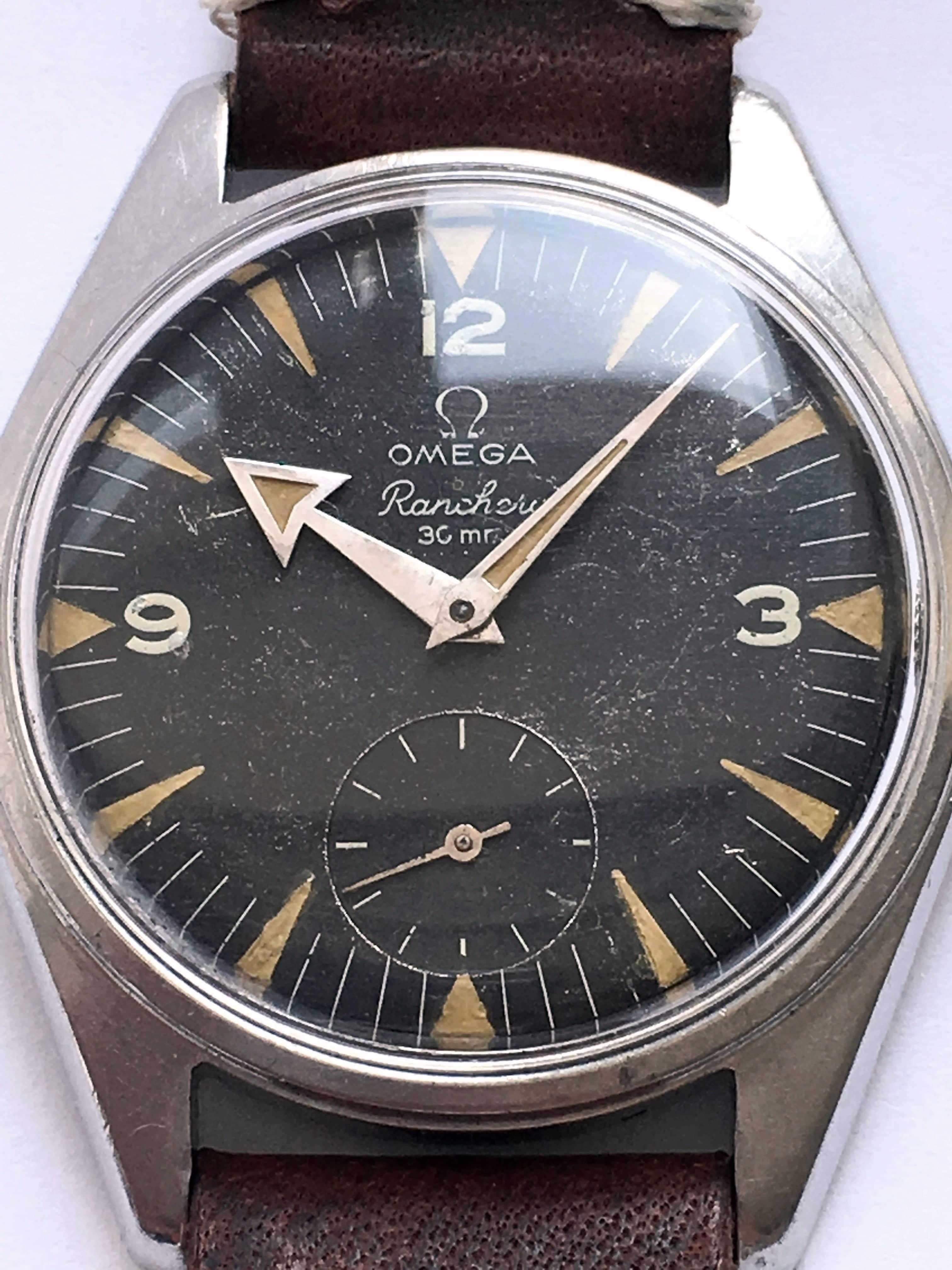 Rare Unrefurbished Omega Ranchero Vintage Broad Arrow