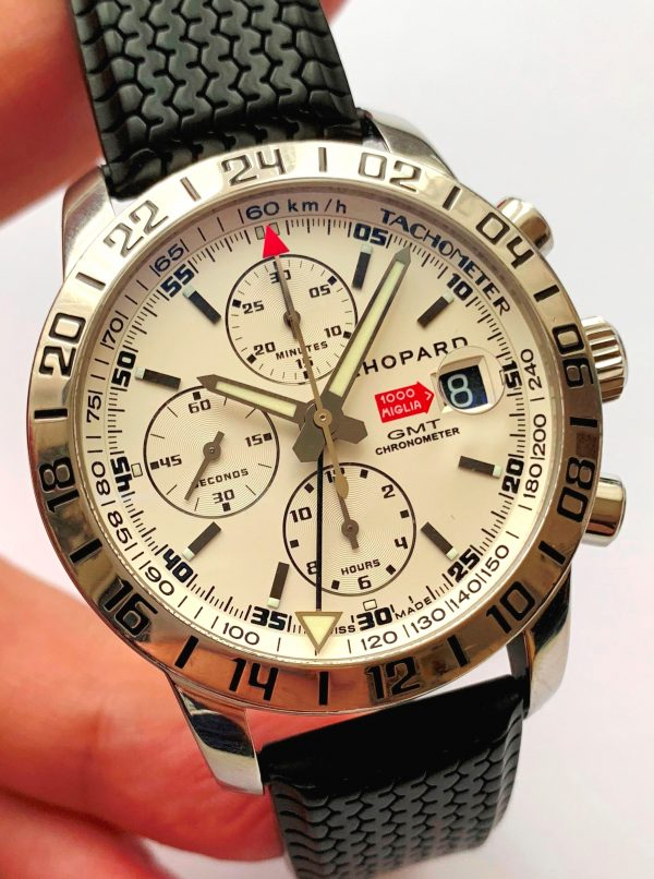 Original Chopard Mille Miglia Full Set Box Papers GMT