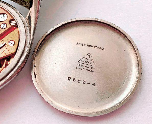 37mm Vintage Omega Oversize Jumbo Honeycomb Dial