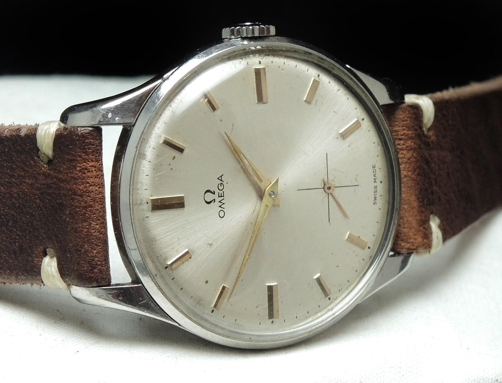 Serviced 36mm Vintage Omega Handwinding Watch