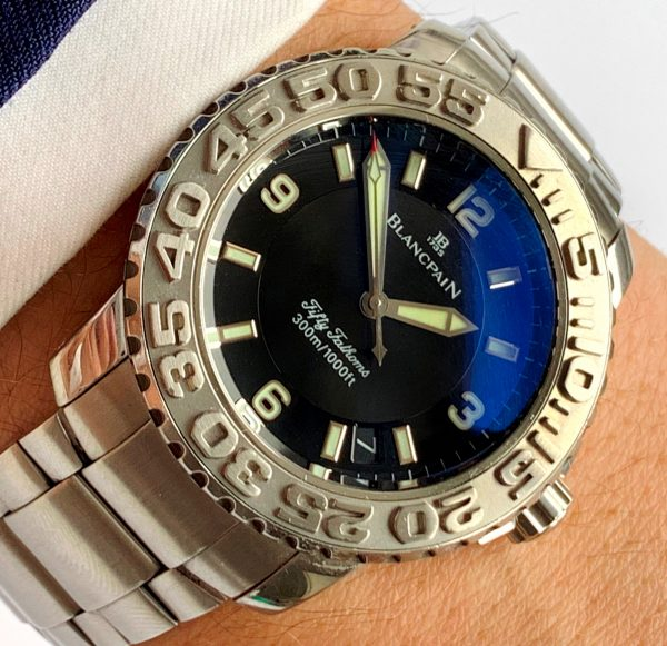 Blancpain Fifty Fathoms Steel Automatic 2200-1130-71