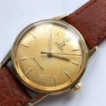 Wonderful Gold Plated Ladies Omega Seamaster Automatic