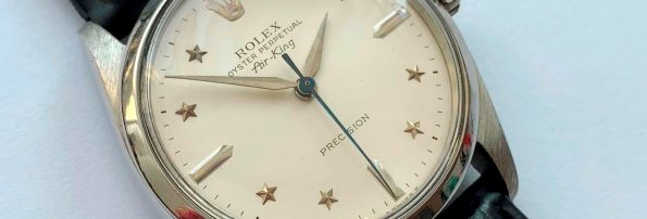Vintage Rolex Air King from 1964 ref 1002 refurbished