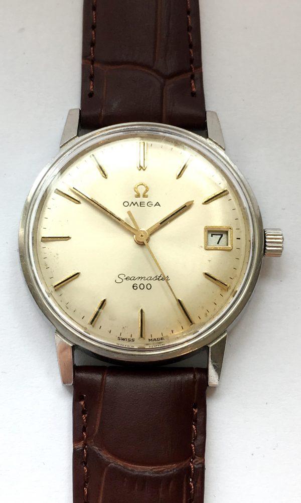 Cal 611 Handwinding Vintage Omega Seamaster 600
